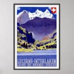 Vintage Switzerland - Print