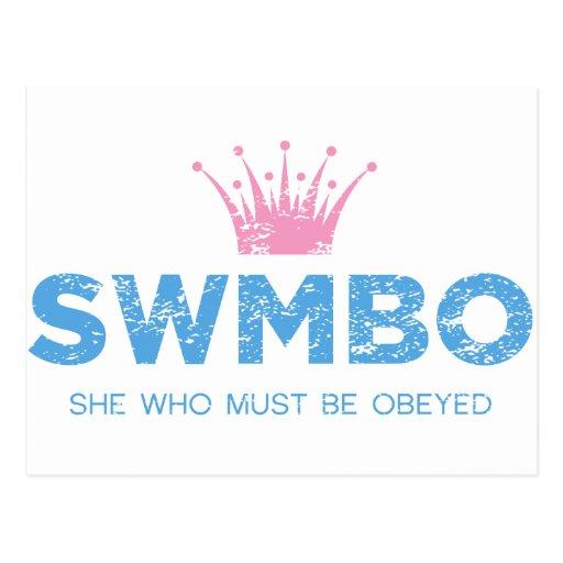 Vintage SWMBO Postales