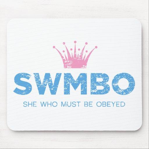 Vintage SWMBO Tapete De Ratón