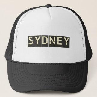 Vintage Sydney Departure Board Trucker Hat