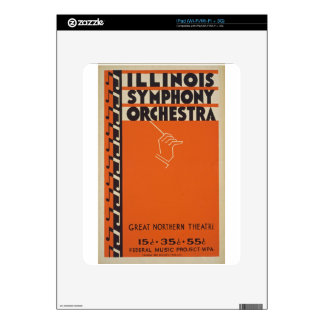 Vintage Symphony Orchestra Skins For iPad