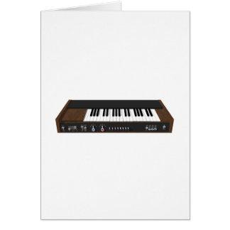 Vintage Synthesizer: 3D Model: Card