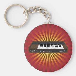 Vintage Synthesizer: 3D Model: Keychain