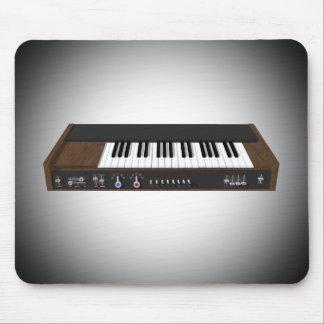 Vintage Synthesizer: 3D Model: Mousepad