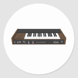 Vintage Synthesizer: 3D Model: Stickers