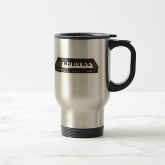 Vintage Synthesizer: 3D Model: Travel Mug