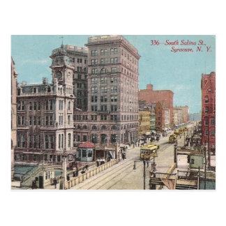 Vintage Syracuse NY Tarjeta Postal