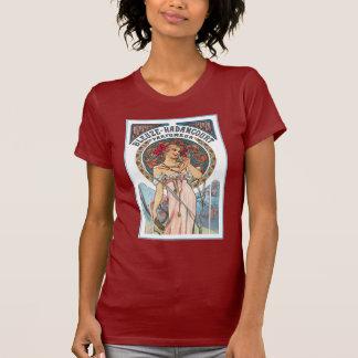 Vintage T-Shirt: Mucha  Perfume Ad T-Shirt