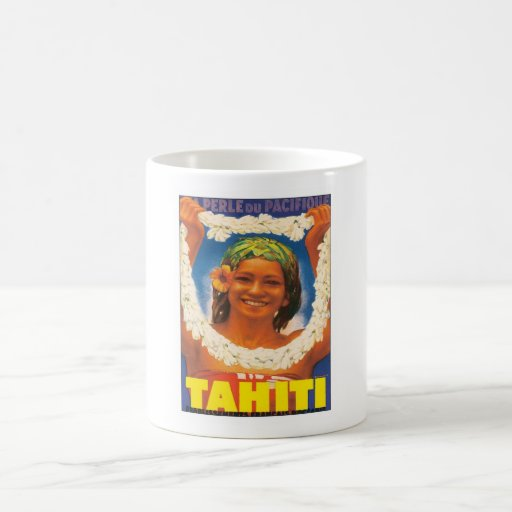 Vintage Tahiti Coffee Mug