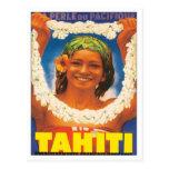 Vintage Tahiti Post Card