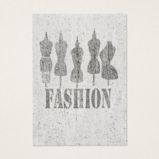Vintage Tailor Dummy Retro Dress Forms Business Card