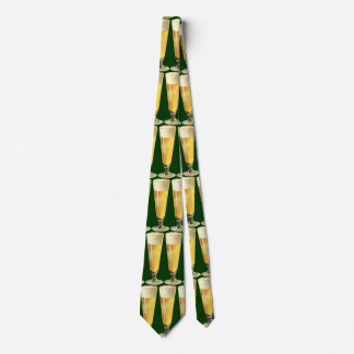 Vintage Tall Frosty Draft Beer, Alcohol Beverage Tie
