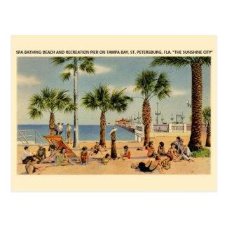 Vintage Tampa Bay St. Petersburg Florida Post Card