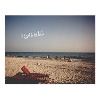 Vintage Tampa Beach Post Card