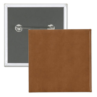Vintage Tan Leather Brown Parchment Paper Blank 2 Inch Square Button