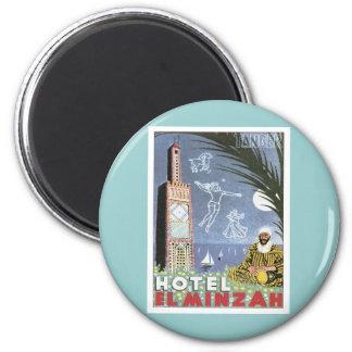 Vintage Tánger Marruecos Iman De Frigorífico