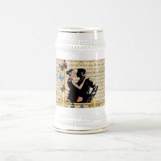 Vintage tango beer stein
