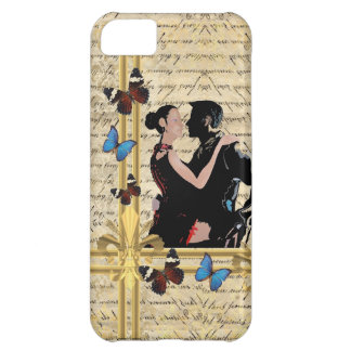 Vintage tango dancers cover for iPhone 5C