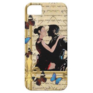 Vintage tango dancers. iPhone SE/5/5s case