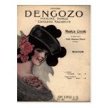 Vintage Tango Sheet Music Postcards