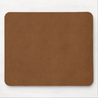 Vintage Tanned Leather Brown Parchment Template Mouse Pad
