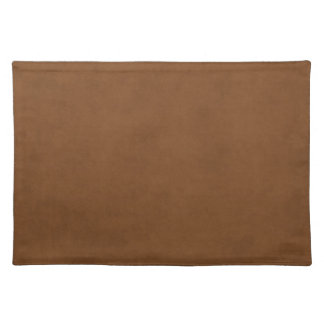 Vintage Tanned Leather Brown Parchment Template Placemat