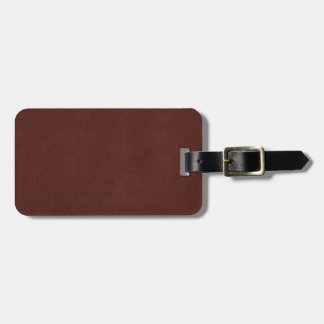 Vintage Tanned Leather Dark Brown Parchment Paper Bag Tags