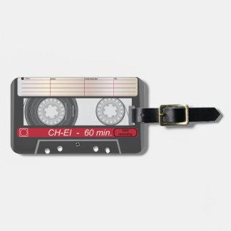 Vintage Tape Bag Tag