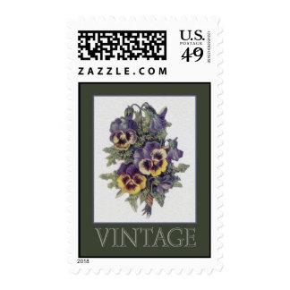 Vintage Tapestry Card - 020 Stamps