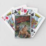 Vintage Tarzan Baraja Cartas De Poker