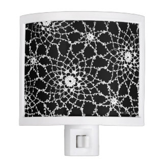 Vintage Tatted Lace Night Light