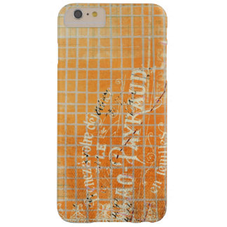 Vintage Tattered French Store Receipt Barely There iPhone 6 Plus Case
