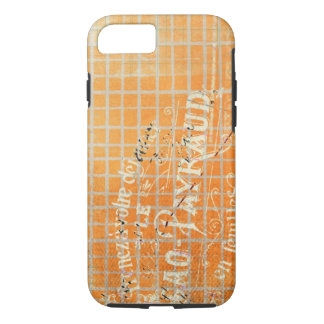 Vintage Tattered French Store Receipt iPhone 7 Case