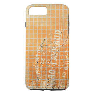 Vintage Tattered French Store Receipt iPhone 7 Plus Case