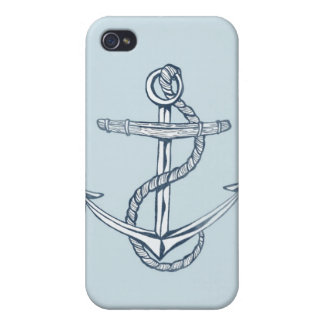 Vintage Tattoo Anchor iPhone 4/4S Cover