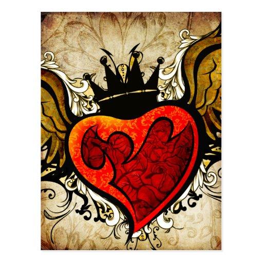 Vintage Tattoo Heart U...