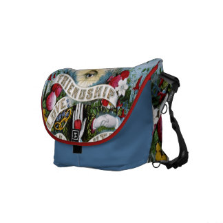 vintage tattoo retro bag in blue_red COLOR CHANGE