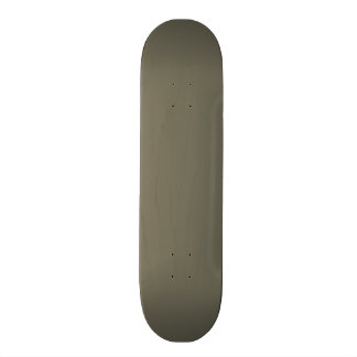 Vintage Taupe Green Color Trend Blank Template Skate Deck