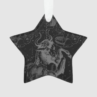 Vintage Taurus Constellation by Hevelius Ornament