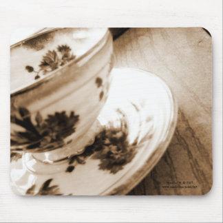 Vintage Tea Cup Mousepad