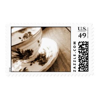 Vintage Tea Cup Postage