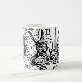 Vintage Tea Party Alice Hatter and March Hare Coffee Mugs