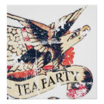 Vintage Tea Party Poster Signs