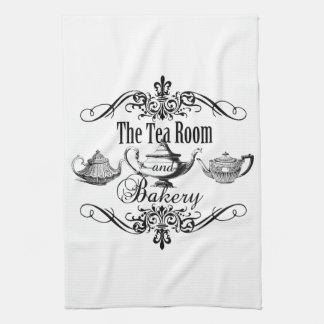 vintage tea room and bakery kichen towel