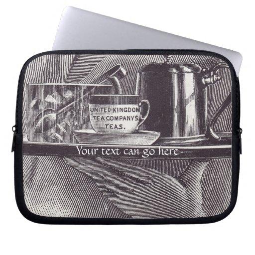 Vintage Tea Tray Laptop Sleeves