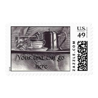 Vintage Tea Tray Stamps