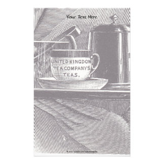 Vintage Tea Tray Stationery