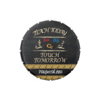 Vintage | Teach Today Touch Tomorrow | Teacher Jelly Belly Candy Tin
