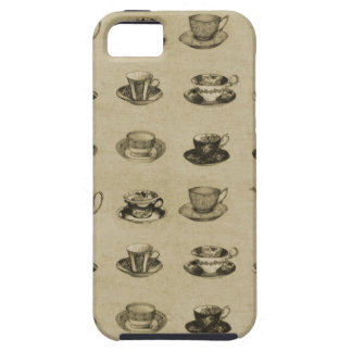 Vintage Teacups iPhone 5 Cover