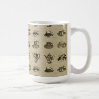 Vintage Teacups Mugs